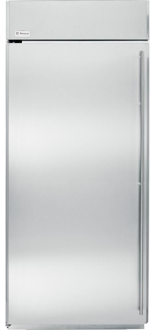 Monogram® 22 Cu. Ft. Built-In All Freezer-Stainless Steel-ZIFS360NHLH