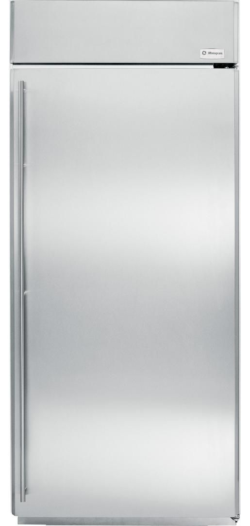 Monogram® 22 Cu. Ft. Built-In All Freezer-Stainless Steel-ZIFS360NHRH