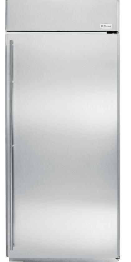 Monogram® 22 Cu. Ft. Built-In All Refrigerator-Stainless Steel-ZIRS360NHRH