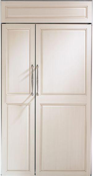 "Monogram® 42"" Built-In Side-by-Side Refrigerator-ZIS420NX"
