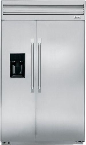 "Monogram® 48"" Built-In Side-by-Side Refrigerator-ZISP480DXSS"