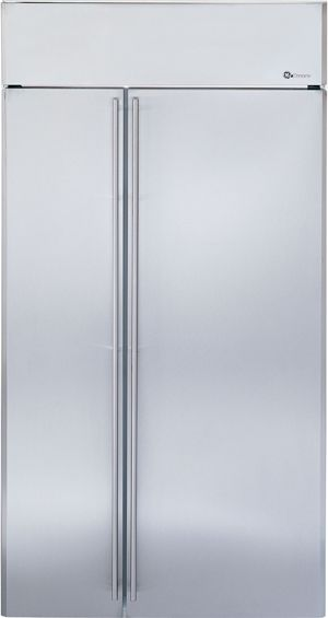 """Monogram® 42"""" Built-In Side-by-Side Refrigerator-ZISS420NXSS"""