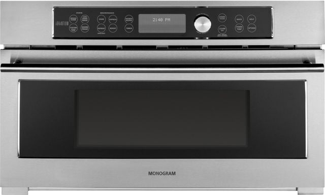 """Monogram® 30"""" Built-In Oven-Stainless Steel-ZSC1201JSS"""