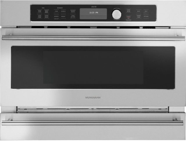 """Monogram® 30"""" Built-In Oven-Stainless Steel-ZSC2201JSS"""