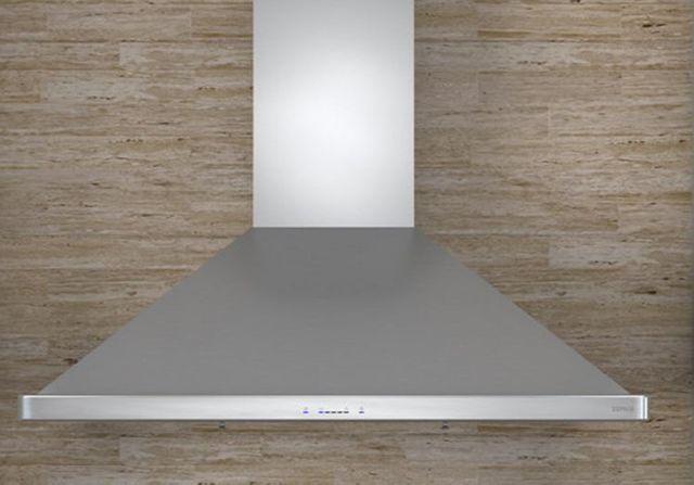 "Zephyr Essentials Europa Siena ES 36"" Wall Hood-Stainless Steel-ZSI-E36AS-ES"