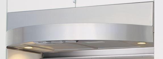 """Zephyr Essentials Tamburo 36"""" Under Cabinet Hood-Stainless Steel-ZTA-E36AS"""