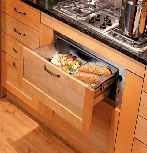 """GE® Monogram® Warming Drawer 3/4"""" Wood Panel Kit-ZXD30B"""