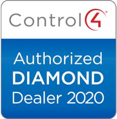 Control 4 Diamond logo