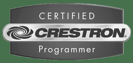 Crestron Certified Programmer logo