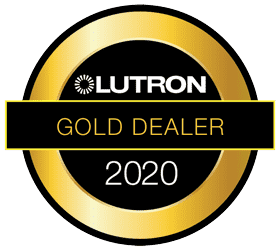 Lutron 2020 Gold Dealer Logo