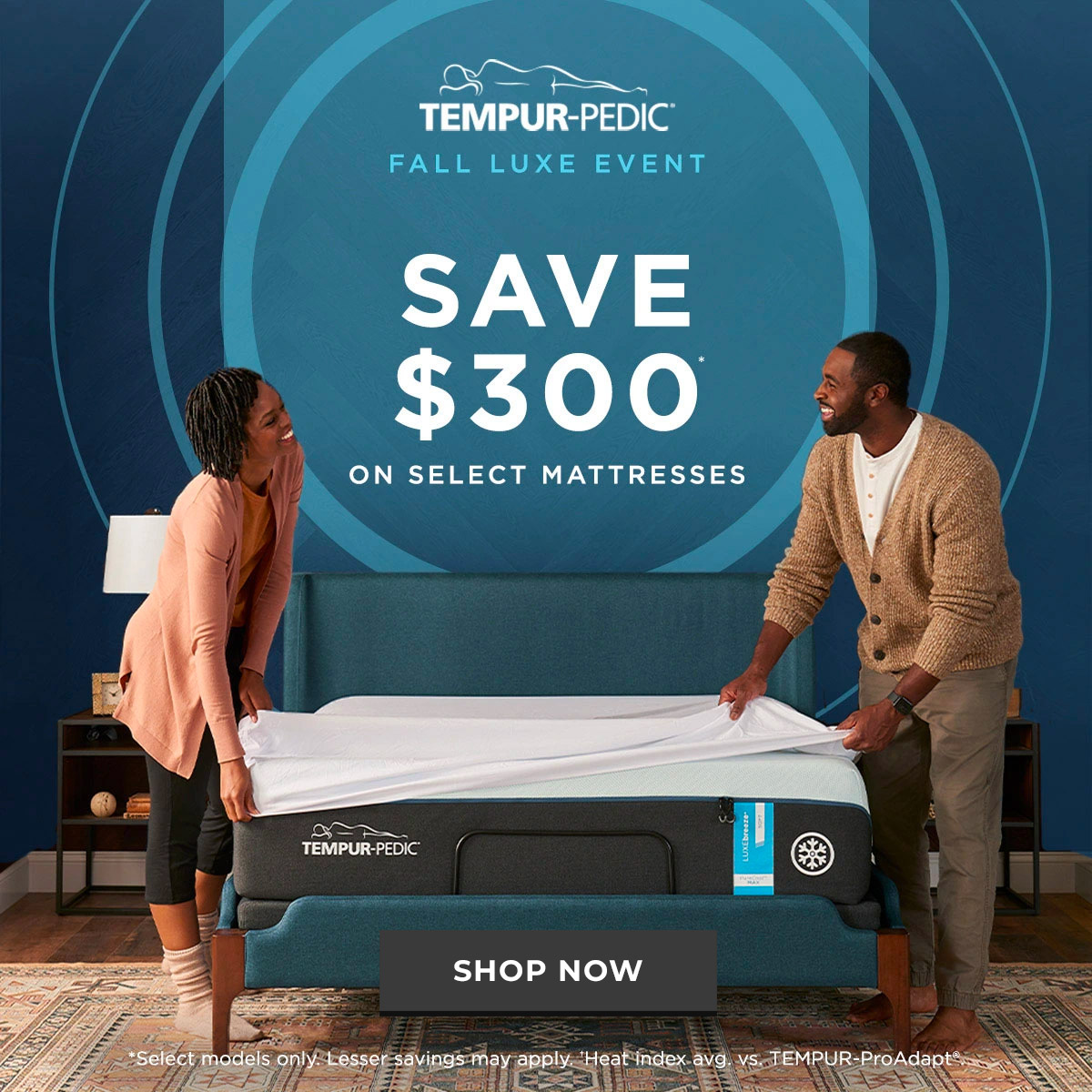 Tempur Luxe Fall Event