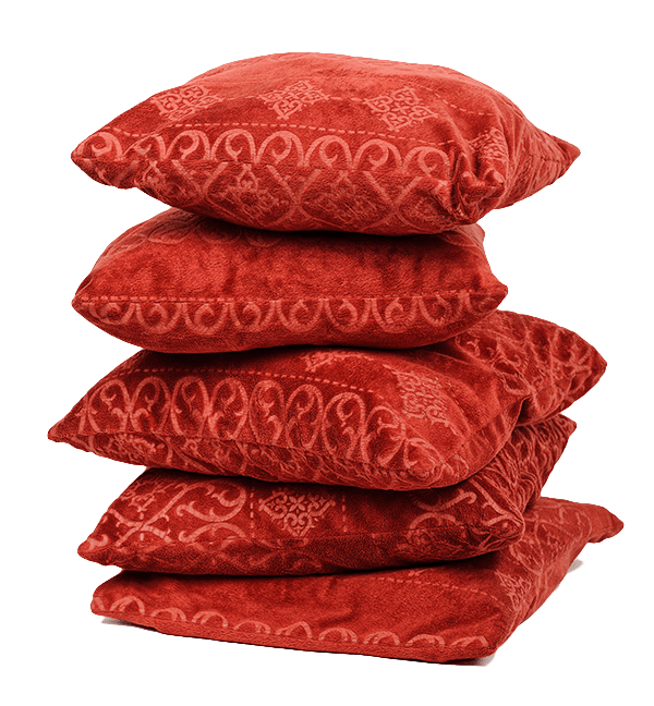 pillows; experience local