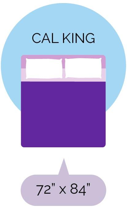 California King size mattress dimensions