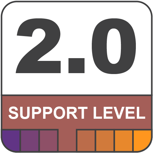 2.0 Support Level