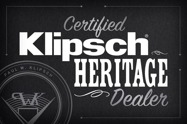 Certified Klipsch Heritage Dealer Logo