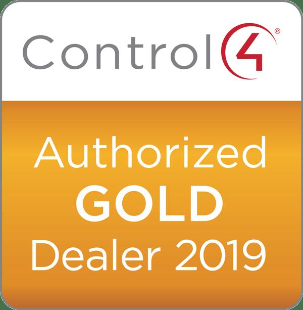Control 4 badge Gold 2019