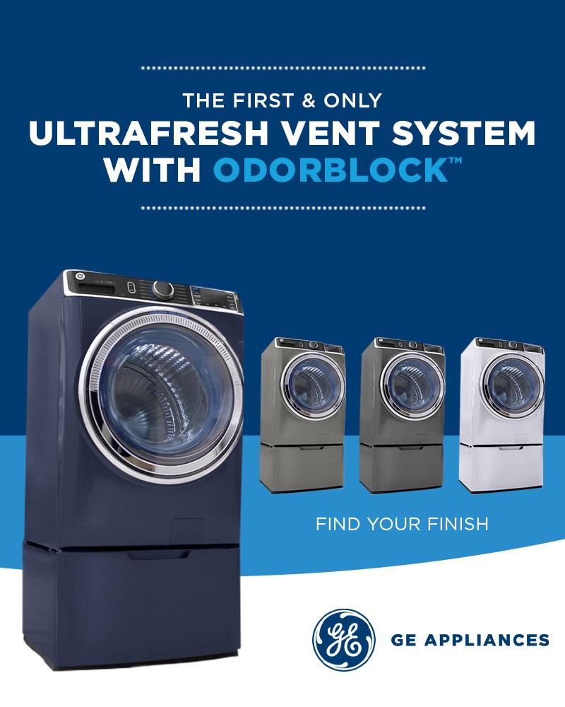 GE ultrafresh laundry vent