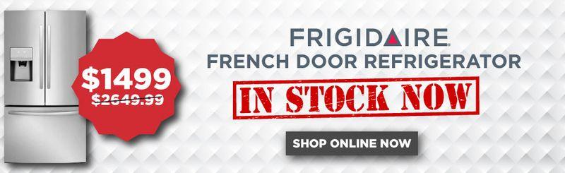 Shop Frigidaire French Door Refrigerator