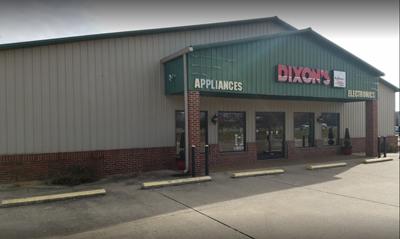 Dixon's storefront