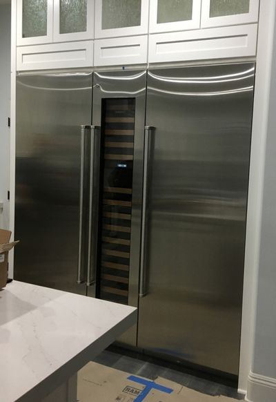 Amazingly delivered and installed refrigerator.