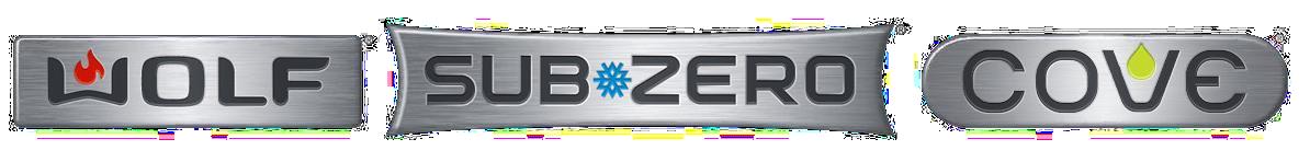 Wolf Sub-Zero Cove Badges