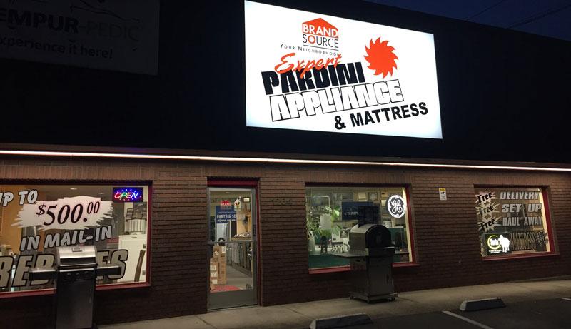 pardini store front