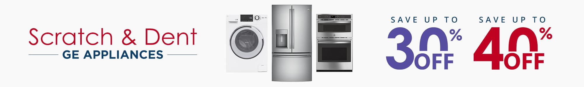 Scratch & Dent GE Appliances