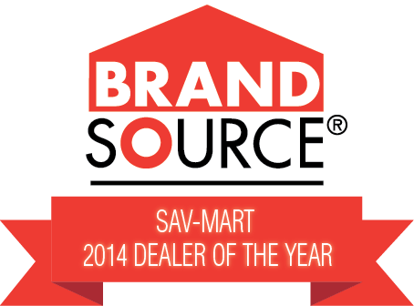Brandsource Sav-Mart 2014 Dealer of the Year