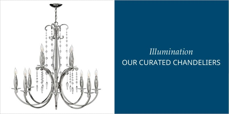 curated chandeliers image
