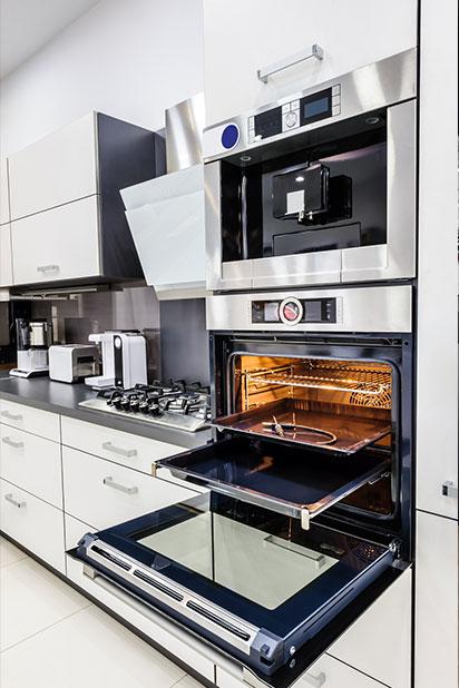 kitchen showcasing oven