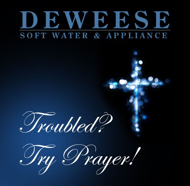 Troubled? Try Prayer!