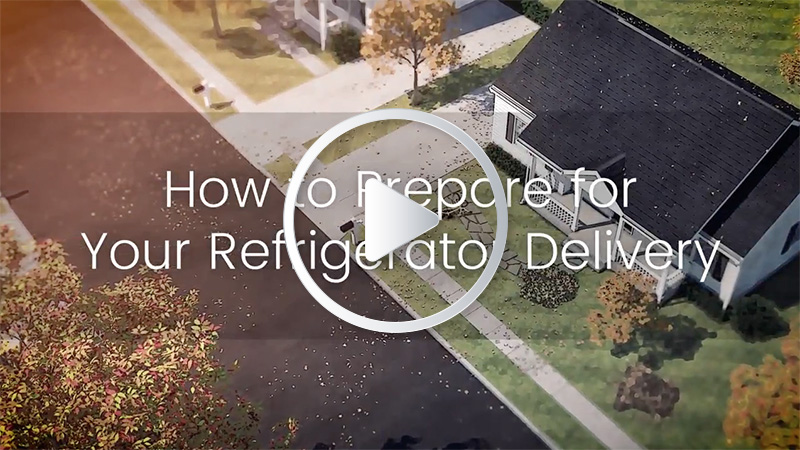 How to prepare for your refrigerator delivery