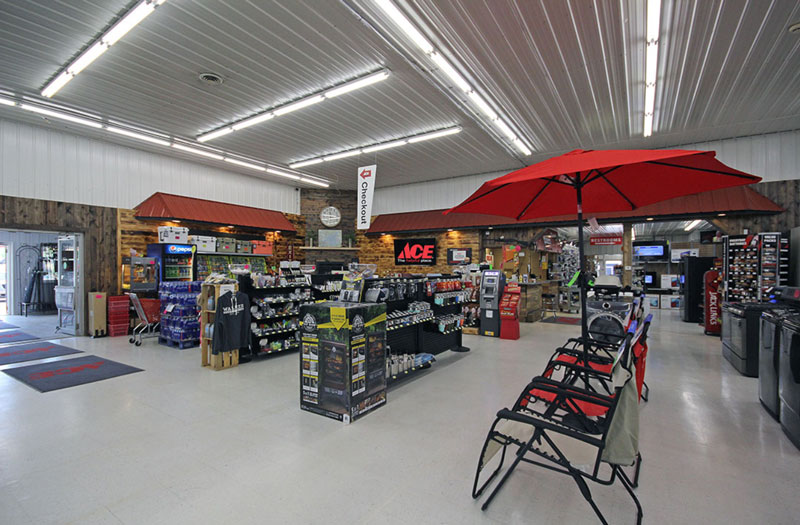 Ace Hardware store interior