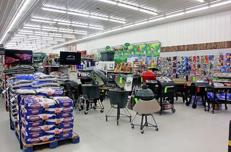 grill & outdoor cooking aisle