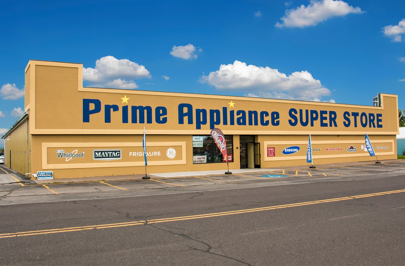 Prime Appliance Store front