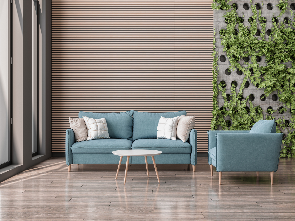 plants on walls for better air