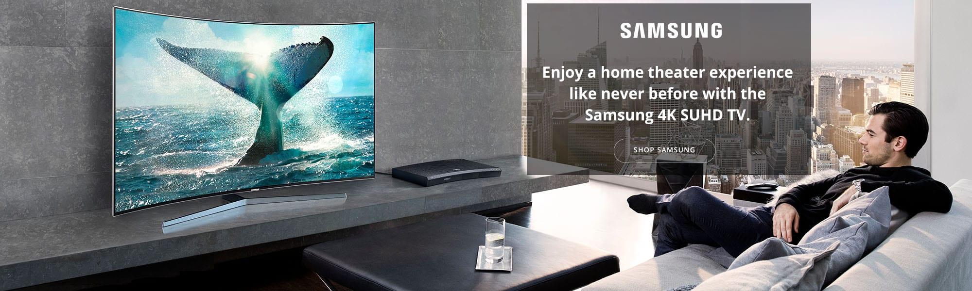 Samsung TV Slide